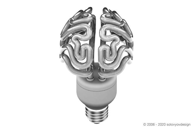 brain lamp solovyovdesign